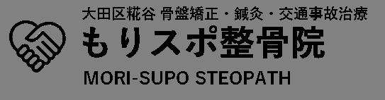 もりスポ整骨院|大田区糀谷・大鳥居  骨盤矯正・鍼灸・交通事故治療